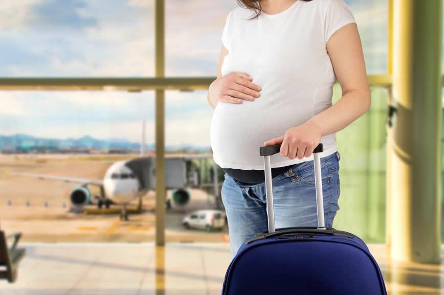 Hamilelikte seyahat etmek